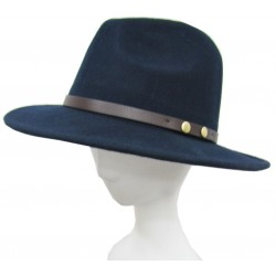 FEDORA HAT WITH WIDE BORDER
