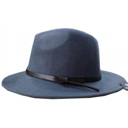 Fedora hat with brown belt